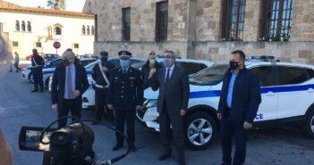 Οι εκπρόσωποι των αστυνομικών ευχαριστούν την Περιφέρεια