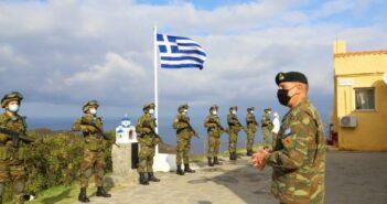 Στα ακριτικά νησιά του Αιγαίου ο Aρχηγός ΓΕΕΘΑ Στρατηγός Κωνσταντίνος Φλώρος [εικόνες]