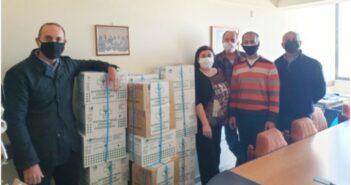 24.000 χειρουργικά γάντια παρέδωσε στο Νοσοκομείο Ρόδου ο Φαρμακευτικός Σύλλογος Δωδεκανήσου.