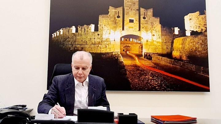 Ο δήμαρχος Ρόδου ευχαριστεί την υφυπουργό Παιδείας για την άμεση υλοποίηση των προτάσεων
