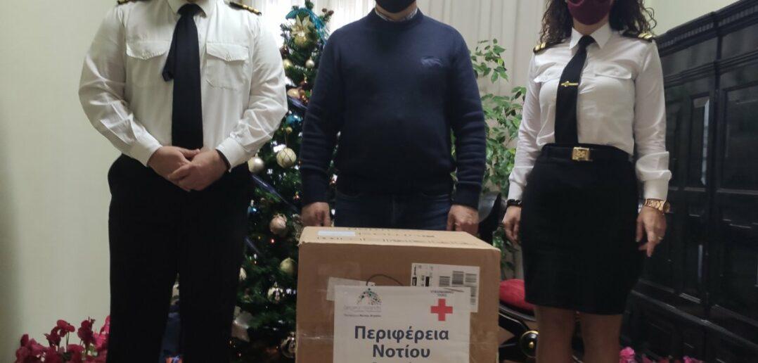Συνεχίζεται το σχέδιο παράδοσης rapid tests από την Περιφέρεια Νοτίου Αιγαίου