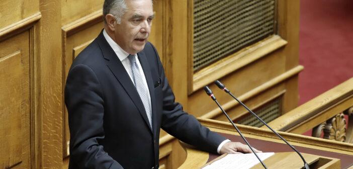 Βασίλης Α. Υψηλάντη στην Ολομέλεια της Βουλής: «Η Νέα Δημοκρατία είναι η μεγάλη λαική φιλελεύθερη παράταξη που βρίσκεται διαρκώς δίπλα στους νησιώτες μας με πράξεις και έργο»