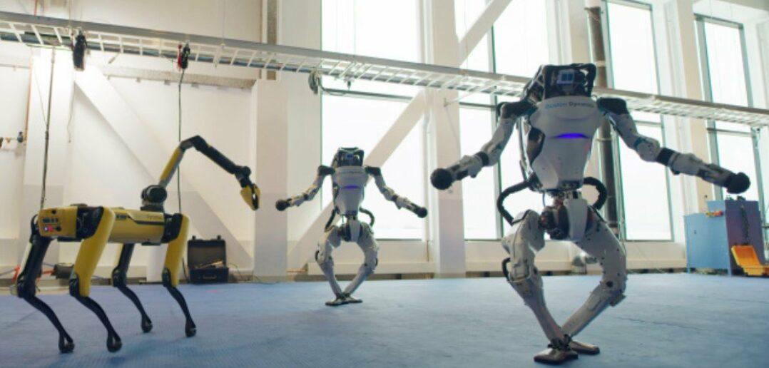 Τα ρομπότ της Boston Dynamics μπορούν και χορεύουν