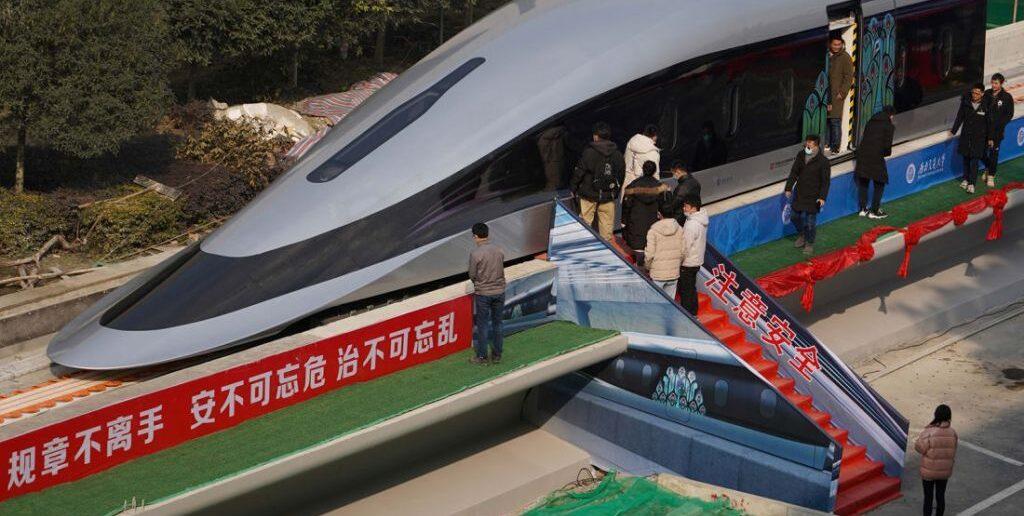 Κίνα: Το ταχύτερο τρένο του κόσμου θα πιάνει τα 620 χλμ/ώρα