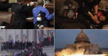 Καπιτώλιο σε κατάσταση πολιορκίας Εικόνες καταστροφής μετά την εισβολή των οπαδών του Τραμπ