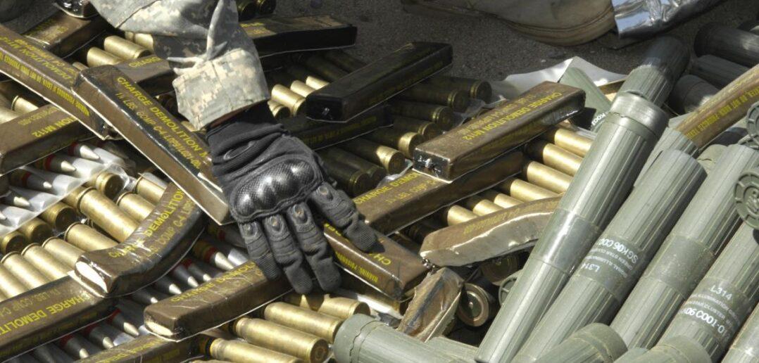 Καταστροφή πυρομαχικών στο πεδίο βολής Κατταβιάς