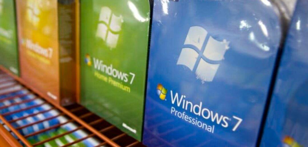 Τα Windows 7 είναι ακόμη εγκατεστημένα σε τουλάχιστον 100 εκατομμύρια PC