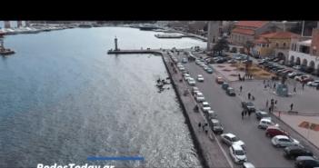 Μια εναέρια βόλτα με drone πάνω από την πόλη της Ρόδου [Βίντεο]