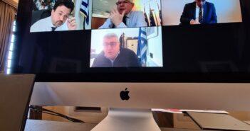 Τηλεδιάσκεψη μεταξύ ΥΠ.Α.Α.Τ., ΕΛΓΑ και Περιφέρειας για το ζήτημα των ελαφιών της Ρόδου
