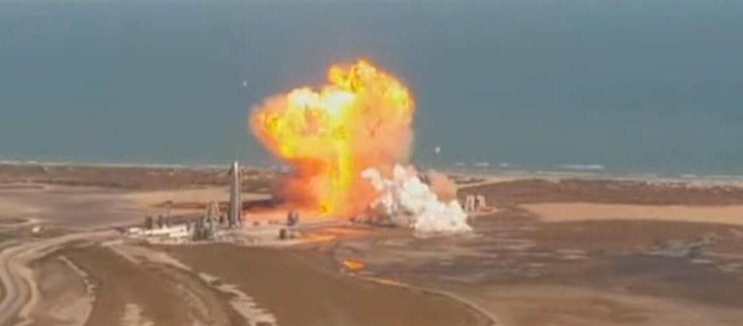 SpaceX: Ανατινάχθηκε το διαστημόπλοιο κατά την προσγείωση (βίντεο)