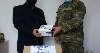 Παράδοση rapid test από την Περιφέρεια Νοτίου Αιγαίου στο Τ.Ε. Καλύμνου