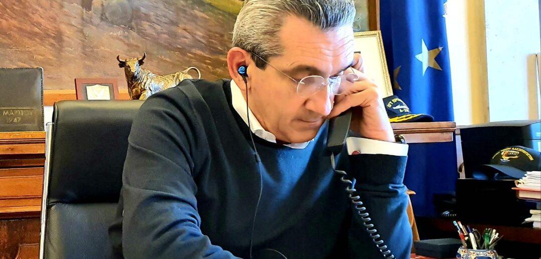 Την κήρυξη σε κατάσταση έκτακτης ανάγκης του Δήμου Πάτμου ζητά ο Περιφερειάρχης