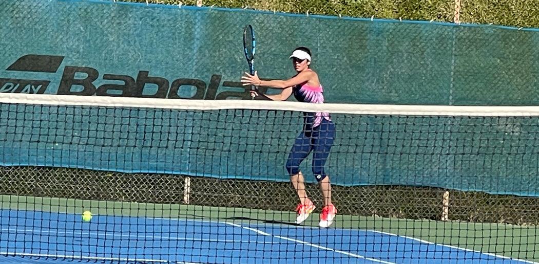 Τένις : Η Γραμματικοπούλου κάνει την προετοιμασία της στη Ρόδο