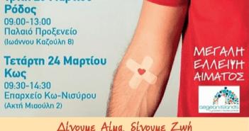Εθελοντική αιμοδοσία ΠΝΑΙ