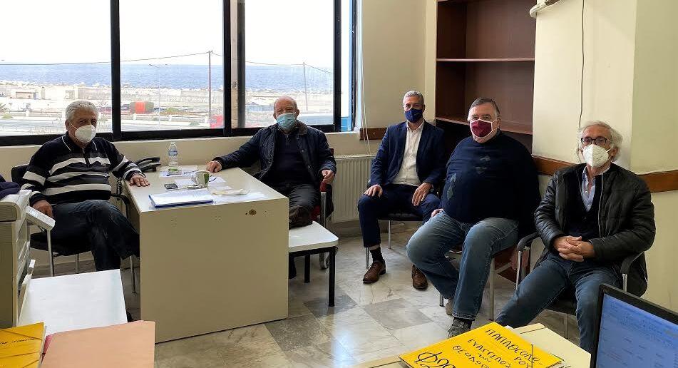 Αντιπεριφερειάρχης Βιομηχανίας – Ενέργειας και Φυσικών Πόρων κ. Κάλλιστος Διακογεωργίου