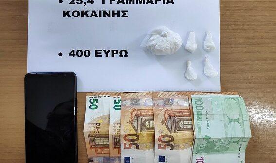 Συνελήφθη αλλοδαπός για διακίνηση ναρκωτικών ουσιών στη Ρόδο