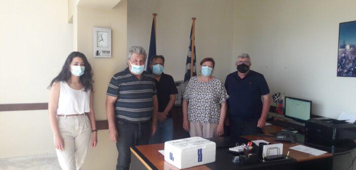 Δωρεά εμβολίων από την Περιφέρεια για τα αδέσποτα του Δήμου.j