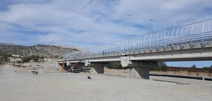 Νέα γέφυρα στο Χαράκι