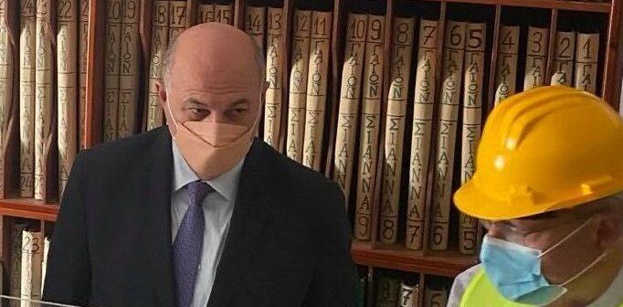 Τσιάρας Υπουργός Κτηματολόγιο Ρόδου αα