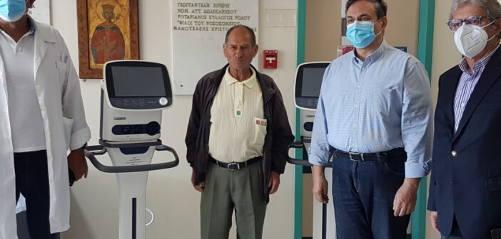 Mεγάλη δωρεά του Ιωάννη Μανουσάκη στο Γενικό Νοσοκομείο Ρόδου