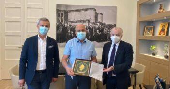 Mε τον Πρέσβη του Ισραήλ συναντήθηκε ο Δήμαρχος Ρόδου ΑΑ