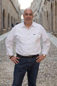 Ο εντεταλμένος Περιφερειακός Σύμβουλος Δια Βίου Μάθησης και Απασχόλησης Χρήστος Γ. Μπάρδος