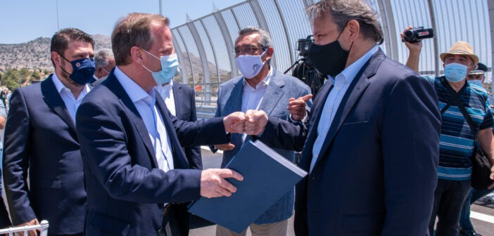 Γέφυρα ανάπτυξης και προστασίας της ανθρώπινης ζωής στη Ρόδο Χατζημάρκος Καραμανλής Χαρδαλιάς