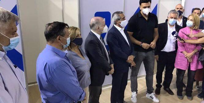 Τη Ρόδο επισκέφθηκε ο Βασίλης Κικίλιας Ενημέρωση για την πορεία των εμβολιασμών
