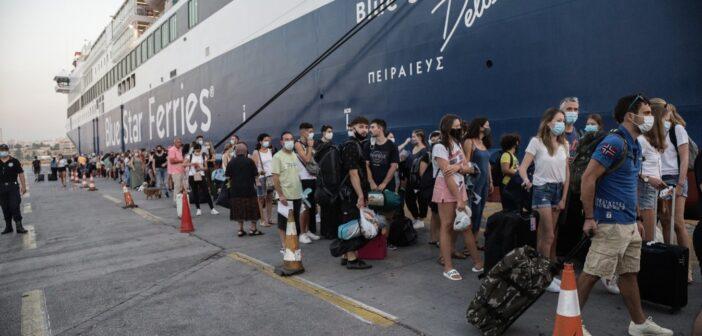 Σε ισχύ από αύριο και η ψηφιακή δήλωση υγείας για τους επιβάτες στα πλοία