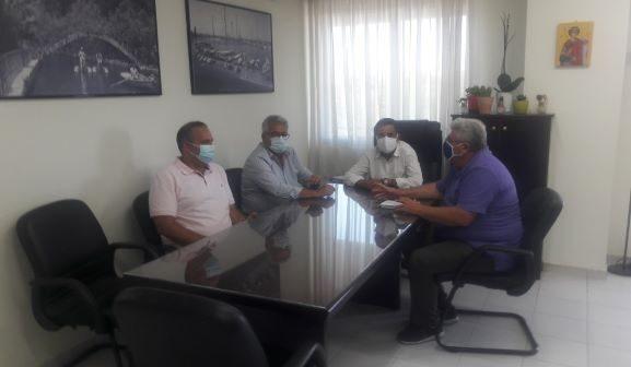 Σύσκεψη συνεργασίας ΔΕΥΑΡ και Περιφέρειας
