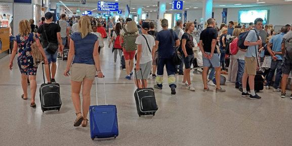 Πάνω από 150.000 οι διεθνείς αφίξεις στα πέντε διεθνή του αεροδρόμια