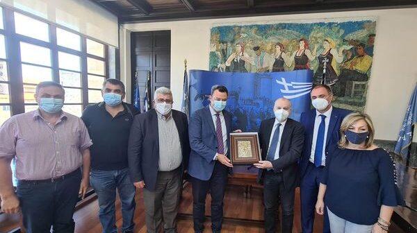 Διοικητή 2ης ΥΠΕ Νοτίου Αιγαίου Χρήστος Ροϊλός Αντώνης Καμπουράκης