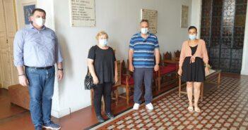 3.000 χειρουργικές μάσκες παρέδωσε ο φιλανθρωπικός σύλλογος Αγία Σοφία