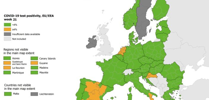 ECDC Η Ελλάδα ανάμεσα στις χώρες με τα περισσότερα τεστ – Κάτω από το 4% ο δείκτης θετικότητας