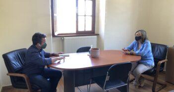 συνεργασίας της Αντιπεριφερειάρχη Χ. Γιασιράνη με τον Αντιδήμαρχο Γ. Καμπούρη