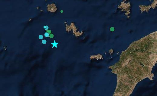 Σεισμός 5,7 Ρίχτερ στην Τήλο