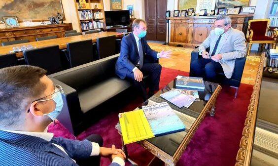 Εθιμοτυπική επίσκεψη του Πρέσβη της Τσεχίας, Jakub Karfík, στον