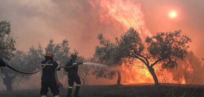 Πολύ υψηλός κίνδυνος πυρκαγιάς αύριο για 4 Περιφερειακές Ενότητες