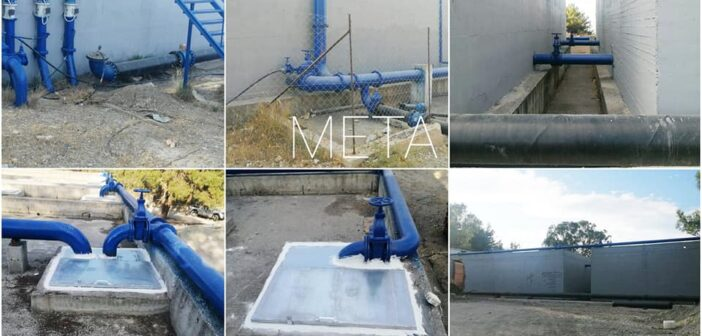 Ολοκληρώθηκε η συντήρηση και η επισκευή της Δεξαμενής «Κεραμιδένια» της ΔΕ Ιαλυσού