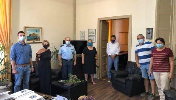 Ε.Υ.ΘΥ.Τ.Α. Ρόδου : Συνάντηση με τον Αστυνομικό Διευθυντή Δωδεκανήσου και τον Διοικητή Τροχαίας Ρόδου