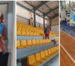 απολύμανση του Κλειστού Γυμναστηρίου Ιαλυσού