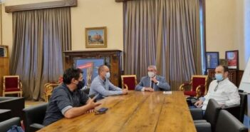 Με το νέο Δ.Σ του Εμπορικού Συλλόγου Ρόδου συναντήθηκε ο Γιώργος Χατζημάρκος