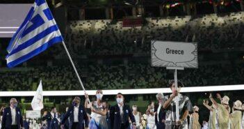 Ολυμπιακοί Αγώνες: Η στιγμή που η Ελλάδα ανοίγει πρώτη την παρέλαση στην τελετή έναρξης
