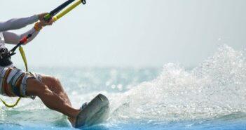 Την ώρα που γινόταν δισεκατομμυριούχος έκανε kitesurf στη Ρόδο
