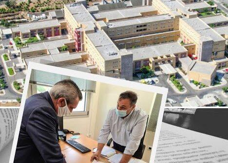 Αύξηση χρηματοδότησης κατά 1,0 εκατ. ευρώ, από ευρωπαϊκούς πόρους της Περιφέρειας, για την προμήθεια πρόσθετου εξοπλισμού στο Γενικό Νοσοκομείο Ρόδου