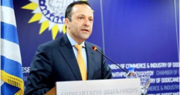Ευχαριστήρια επιστολή από τον Πρόεδρο του Επιμελητηρίου Δωδεκανήσου, κ. Γιάννη Πάππου προς τον Υπουργό Τουρισμού , κ. Θεοχάρη αναφορικά με το άνοιγμα των θαλασσίων συνδέσεων με την Τουρκία για τα ιδιωτικά σκάφη αναψυχής.