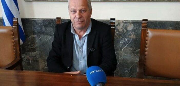 Ο Αντιδήμαρχος Πολιτικής Προστασίας, Επιχειρησιακής Ετοιμότητας και των Δημοτικών Ενοτήτων Καμείρου και Αταβύρου Νεκτάριος Φλοσκάκης