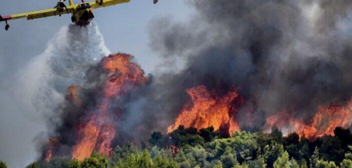 κραίος κίνδυνος πυρκαγιάς (κατηγορία κινδύνου 5) στην ΠΕ Ρόδου