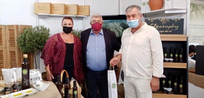 Ο Αντιπεριφερειάρχης Αγροτικής Οικονομίας κ. Φιλήμονας Ζαννετίδης στην εκθεση Κρεμαστής