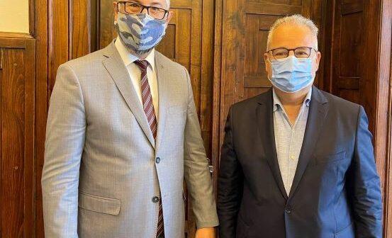 Συνάντηση του Εντεταλμένου Τουρισμού, Κώστα Χρυσοχοΐδη, με τον Πρέσβη της Αυστραλίας στην Ελλάδα